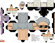 amah papercraft sheet